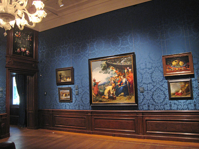 Museumssaal des Mauritshuis