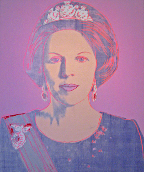 Queen Beatrix of the Netherlands by Andy Warhol and Max Koot