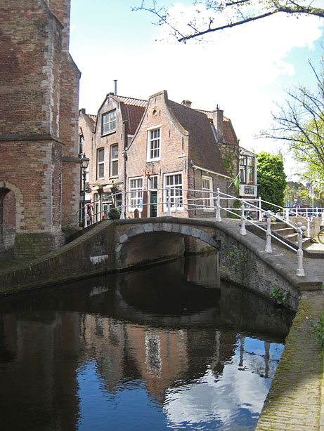 Beiaardiershuisje Delft, house of the carillon player