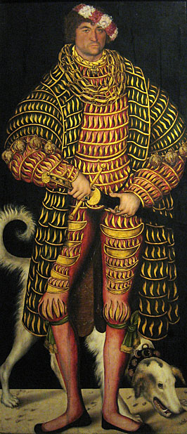 Lucas Cranach, Henry the Pious of Saxony, Dresden
