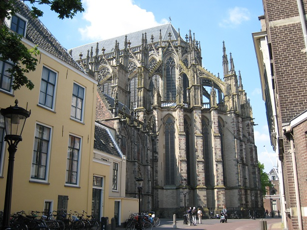 Choir of the Dom Church in Utrecht