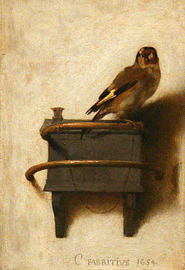 Fabritius The Goldfinch, Puttertje Mauritshuis