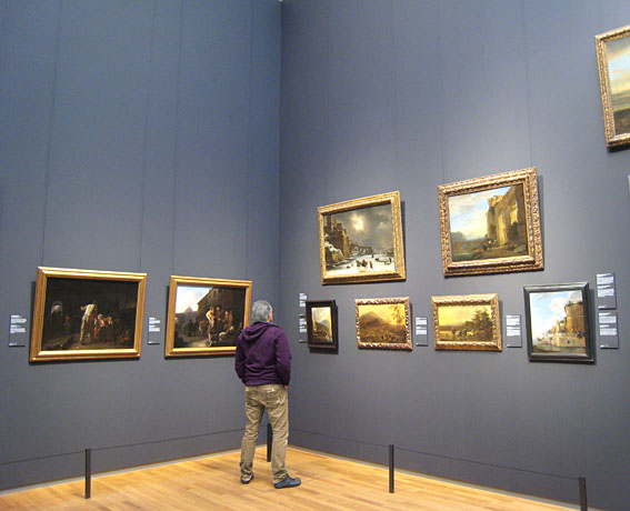Dutch Italianate landscape paintings Rijksmuseum