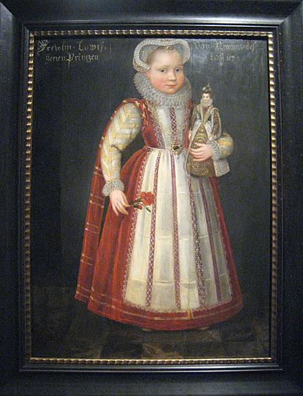 Louise Juliana of Orange-Nassau, Daniel van den Queborn, Siegerlandmuseum Siegen