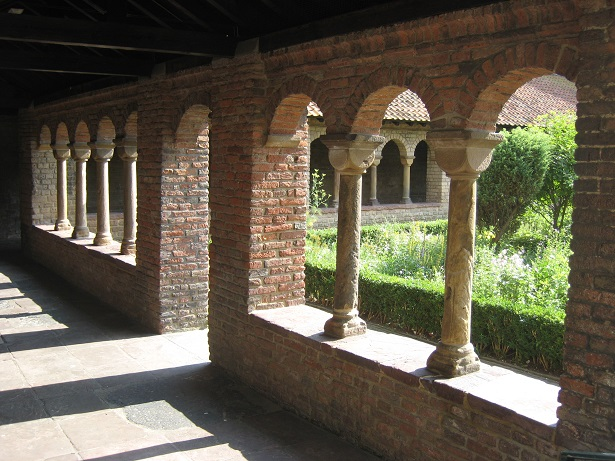 Cloister of former Saint Mary's church (Mariakerk) in Utrecht