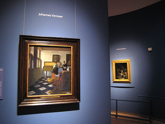 Vermeer, Musikstunde, Mauritshuis, Royal collection