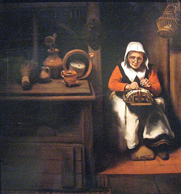 N.Maes Lacemaker Mauritshuis