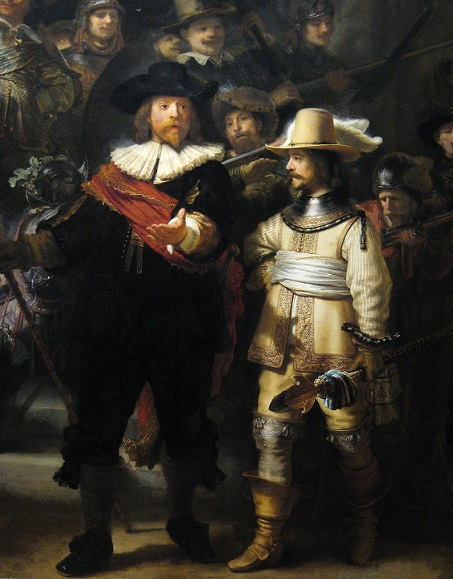 "Rembrandt ""Nightwatch"", Detail"
