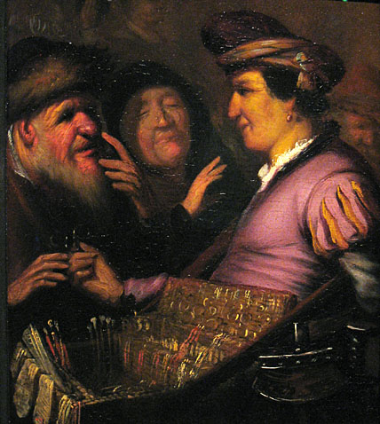 Rembrandt, Rembrandt, The sense of Sight, ca. 1624-1625, Museum de Lakenhal Leiden