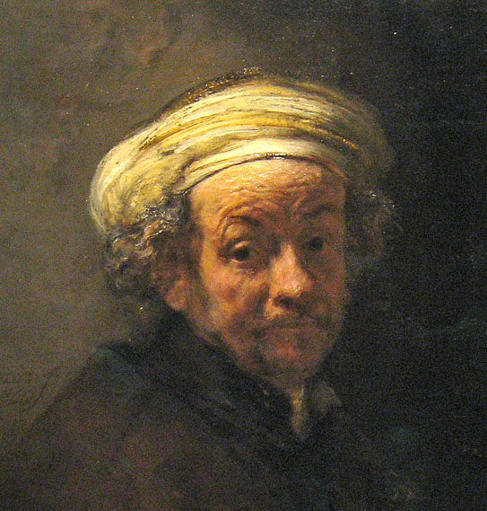 Rembrandt, self portrait as apostel Paul, Rijksmuseum Amsterdam
