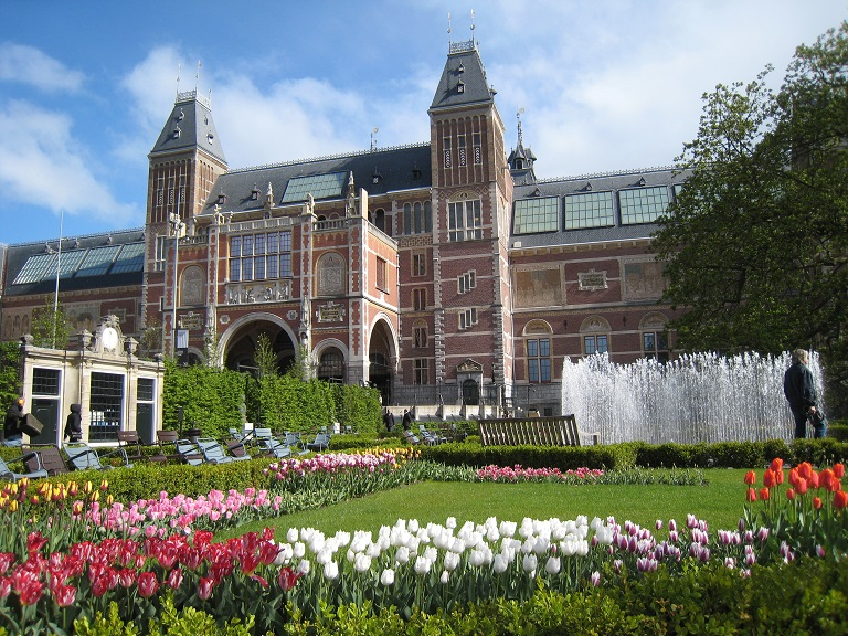 Rijksmusem Amsterdam and its gardens
