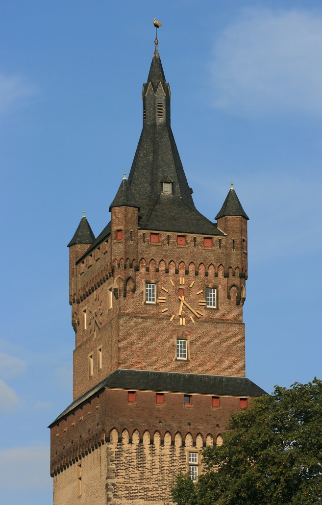 Schwanenturm (swan tower) Kleve Cleves