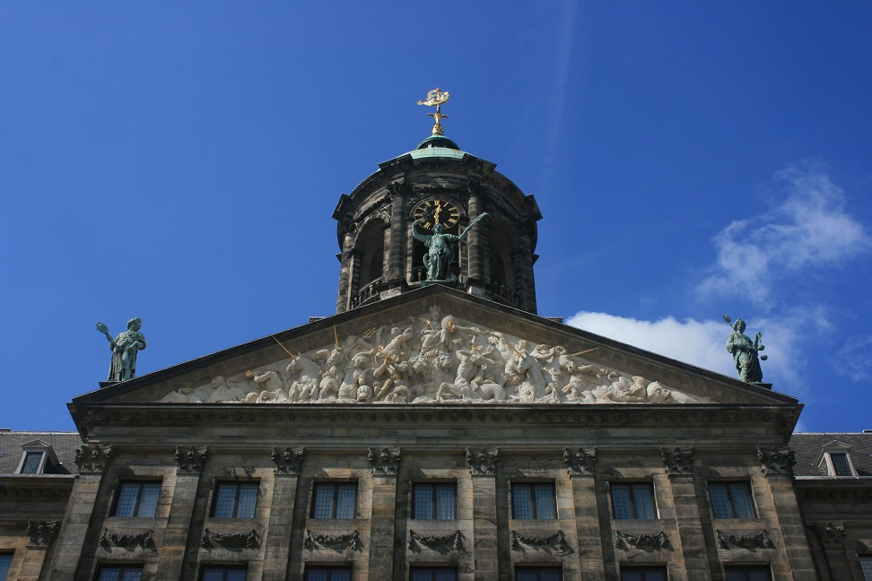 The Royal Palace of Amsterdam, the spectacular former town hall