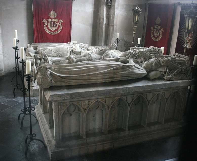 Stiftskirche Kleve - Burial monuments for the counts and dukes of Cleves