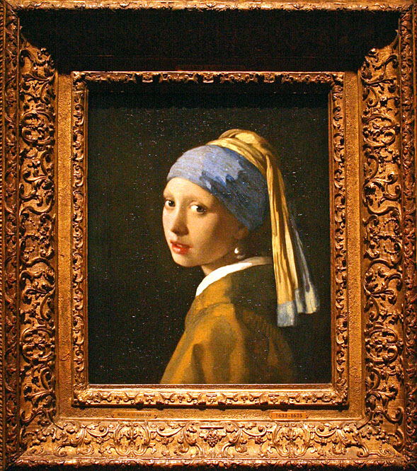 Johannes Vermeer, The Girl with the Pearl Earring, Mauritshuis