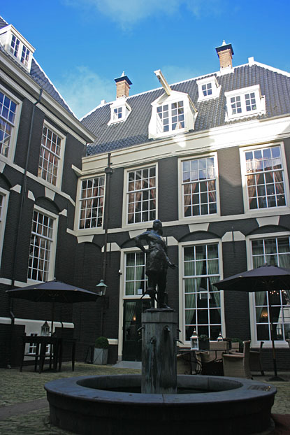 West India House in Amsterdam