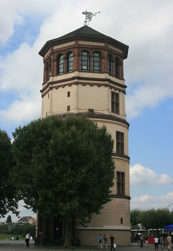 Tower of the former castle of Düsseldorf