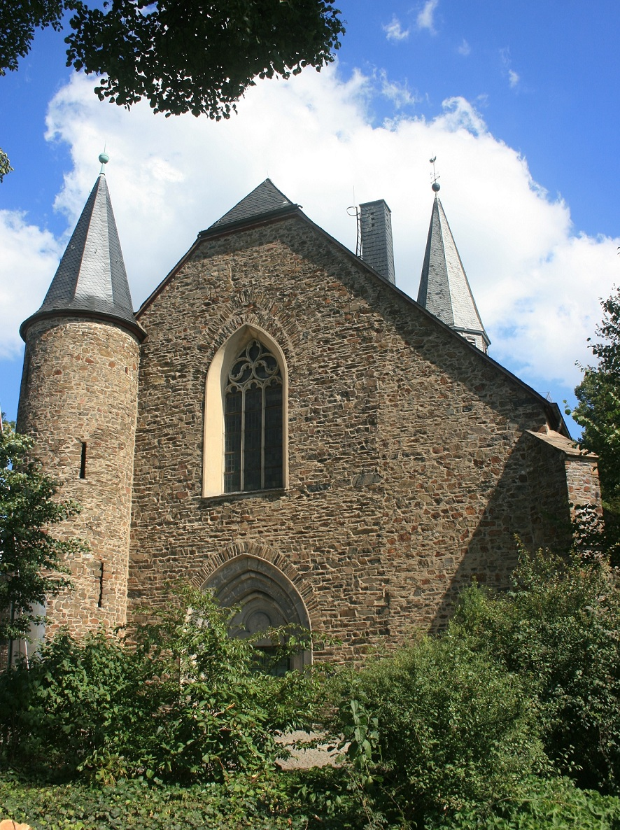 Saint Martin's church (Martinikirche), the oldest remaining church in Siegen.