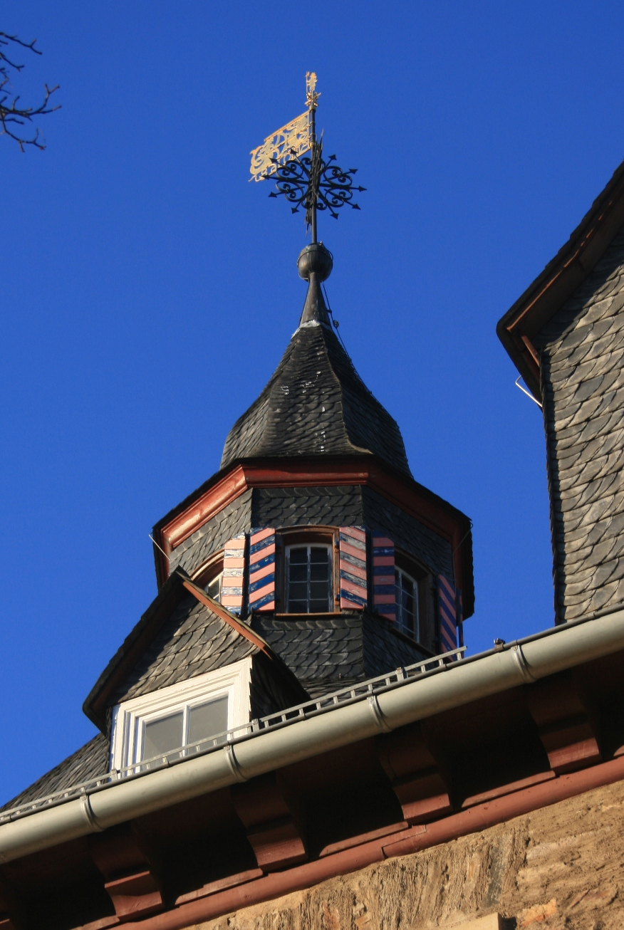 Little tower on the roof of Siegen castle.