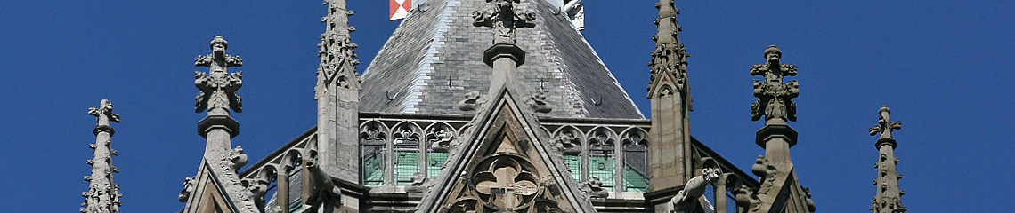 Top of cathedral tower Utrecht