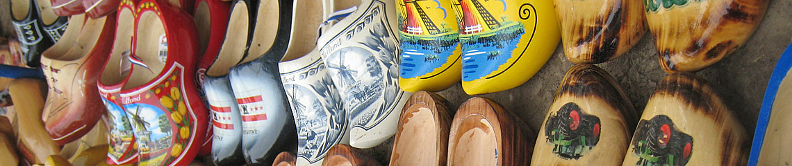wooden shoes Holland