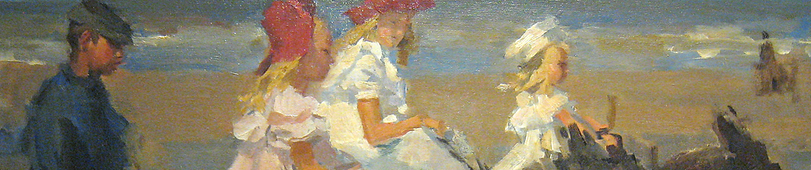 Isaac Israels, Donkey Rides on the Beach