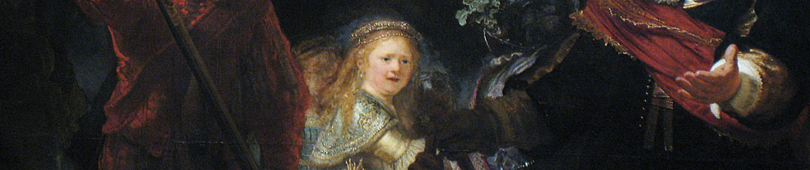 Nightwatch Rembrandt detail