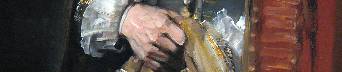 Rembrandt Jan Six detail Rijksmuseum
